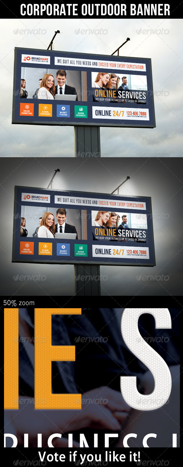 GraphicRiver Corporate Outdoor Banner 25 6856940
