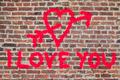 I Love You Graffiti - PhotoDune Item for Sale