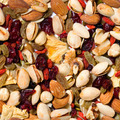 Repeating Fruit and Nut Background - PhotoDune Item for Sale