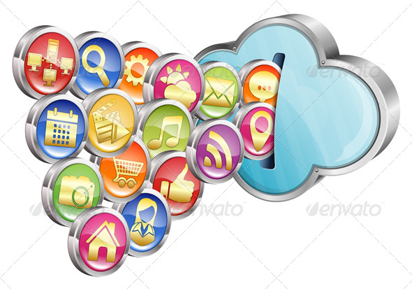 GraphicRiver Cloud Computing 6857023