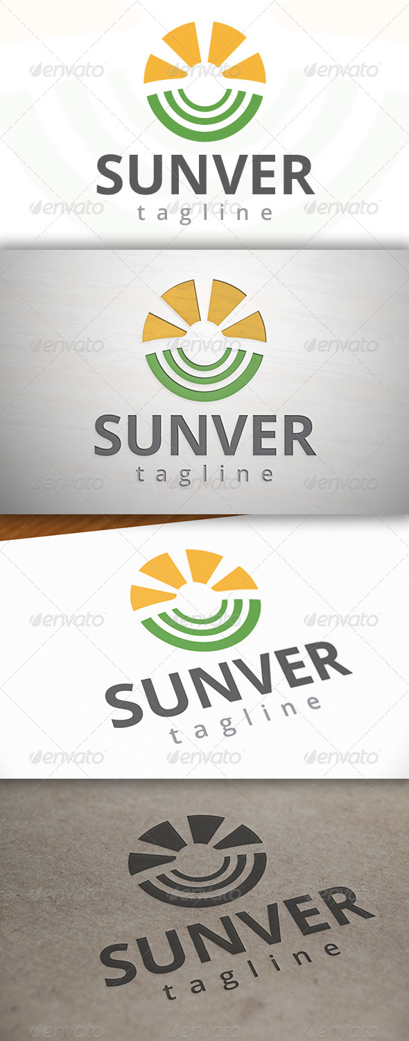 GraphicRiver Sun Logo Template 6857086
