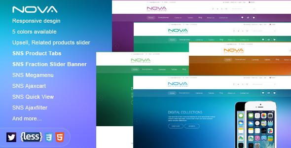SNS Nova - Responsive Multipurpose Magento Themes