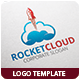 Rocket Cloud Logo Template - GraphicRiver Item for Sale