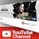 Youtube Channel Banner V1 - GraphicRiver Item for Sale
