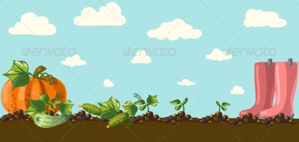 GraphicRiver Garden 6857986