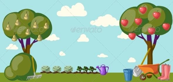 GraphicRiver Garden 6857992