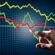Touching Stock Market Chart - PhotoDune Item for Sale