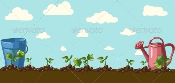 GraphicRiver Garden 6857996