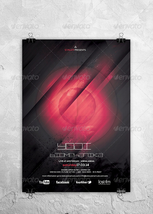 GraphicRiver Futuristic Flyer Poster Vol 4 6858352
