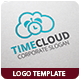 Time Cloud Logo Template - GraphicRiver Item for Sale
