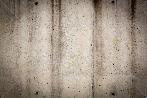 Concrete Wall - Stock Photo - Images
