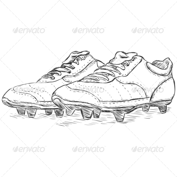 GraphicRiver Football Boots 6858667