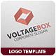 Voltage Box Logo Template - GraphicRiver Item for Sale