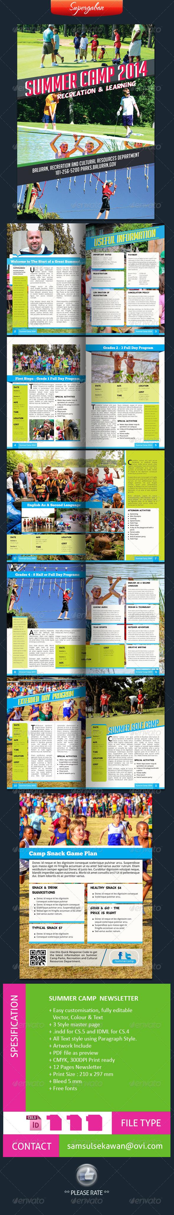 Summer Camps Newsletter