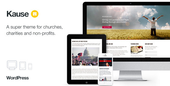 Kause - Multi Purpose WordPress Theme - Churches Nonprofit