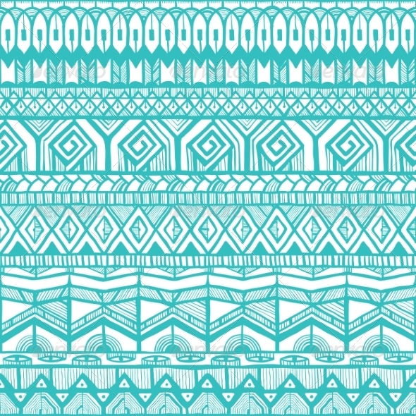 GraphicRiver Ethnic Seamless Pattern 6858946