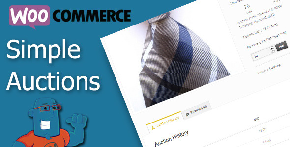 CodeCanyon WooCommerce Simple Auctions 6811382