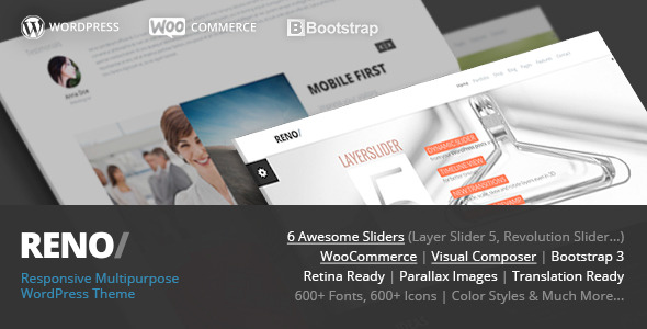 Reno - MultiPurpose WordPress WooCommerce Theme