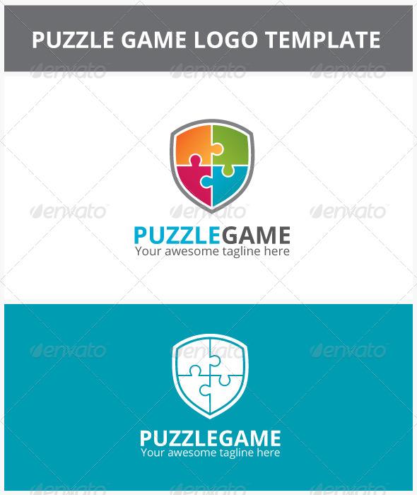 GraphicRiver Puzzle Game Logo 6859436