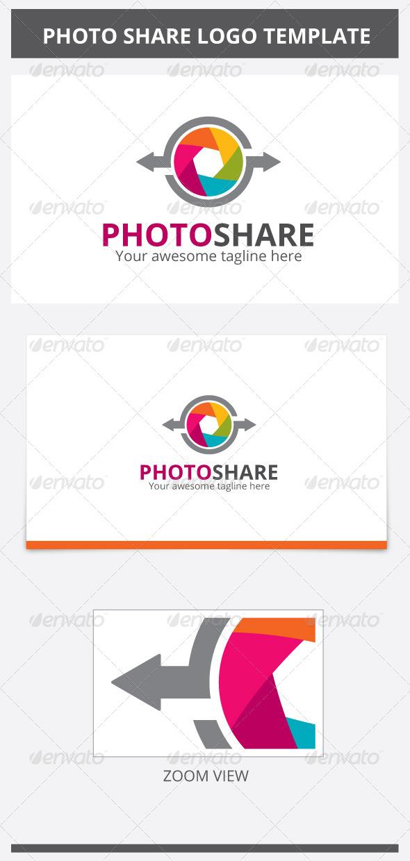 GraphicRiver Photo Share Logo 6859485