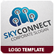 Sky Connect Logo Template - GraphicRiver Item for Sale