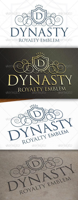 GraphicRiver Dynasty Logo 6859673