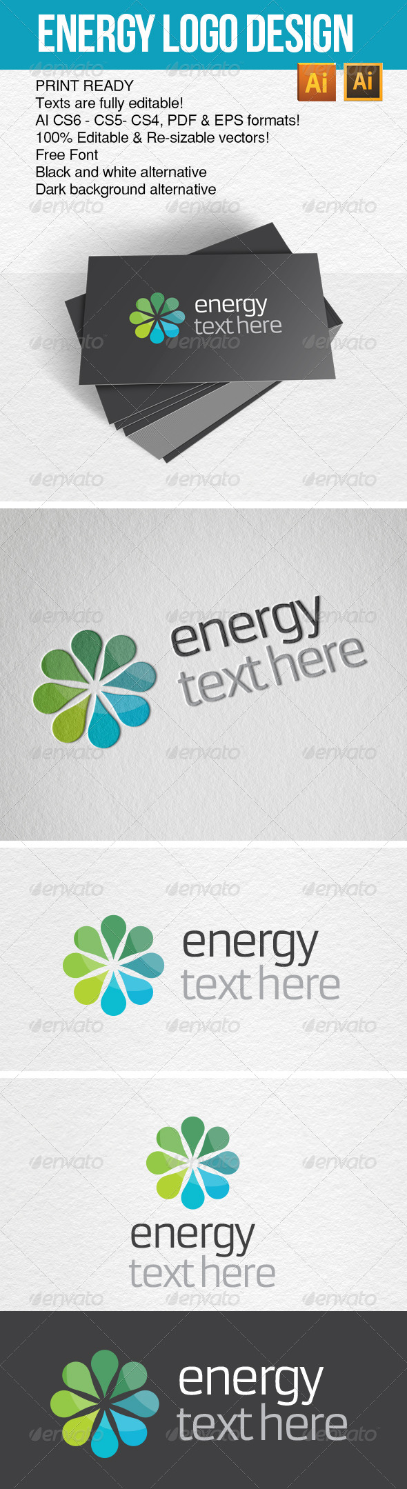 GraphicRiver Energy Logo YMC Design 6845104