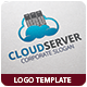 Cloud Server Logo Template - GraphicRiver Item for Sale