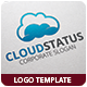 Cloud Status Logo Template - GraphicRiver Item for Sale