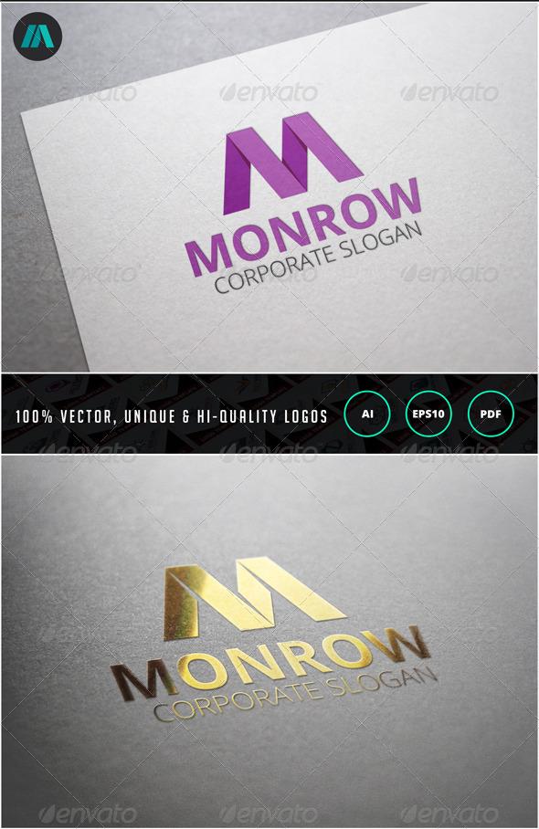Letter M Logo Template - Letters Logo Templates