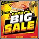 Big Sale Flyer Template - GraphicRiver Item for Sale