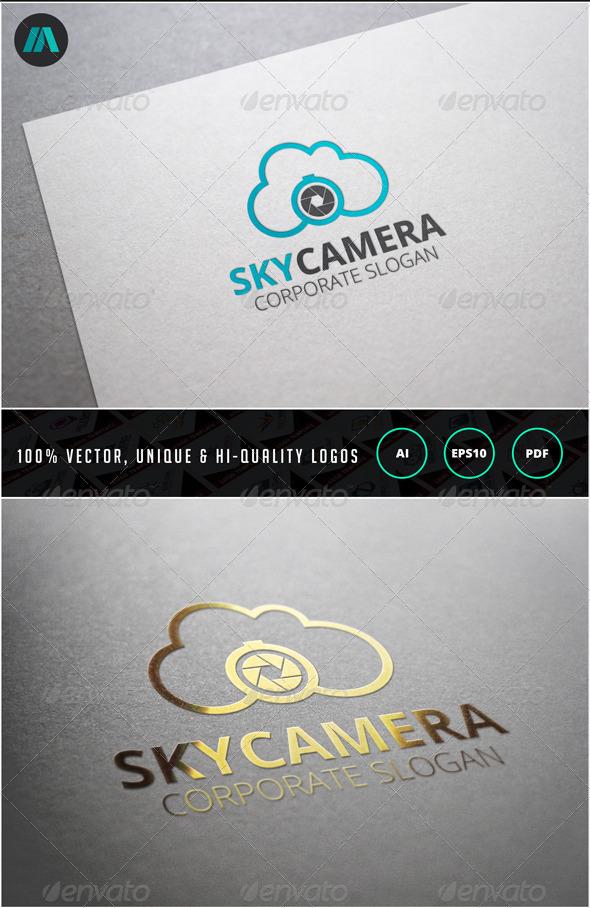 GraphicRiver Sky Camera Logo Template 6860016