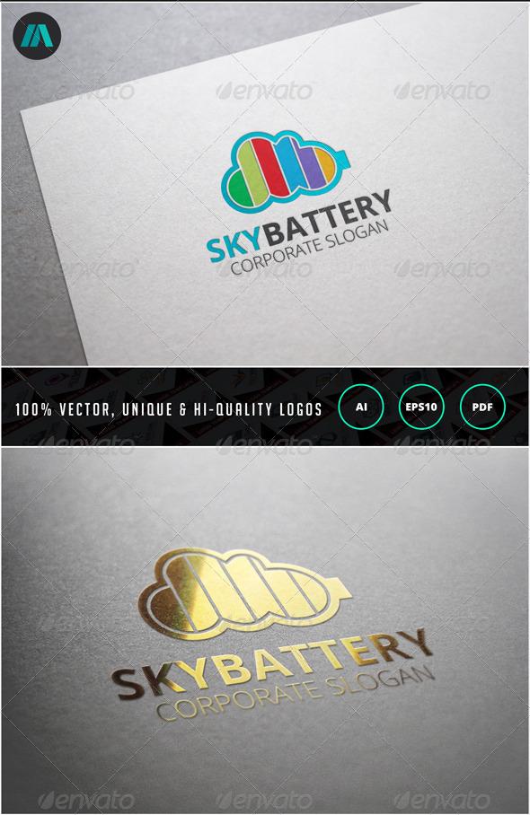 GraphicRiver Sky Batter Logo Template 6860041
