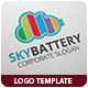 Sky Batter Logo Template - GraphicRiver Item for Sale