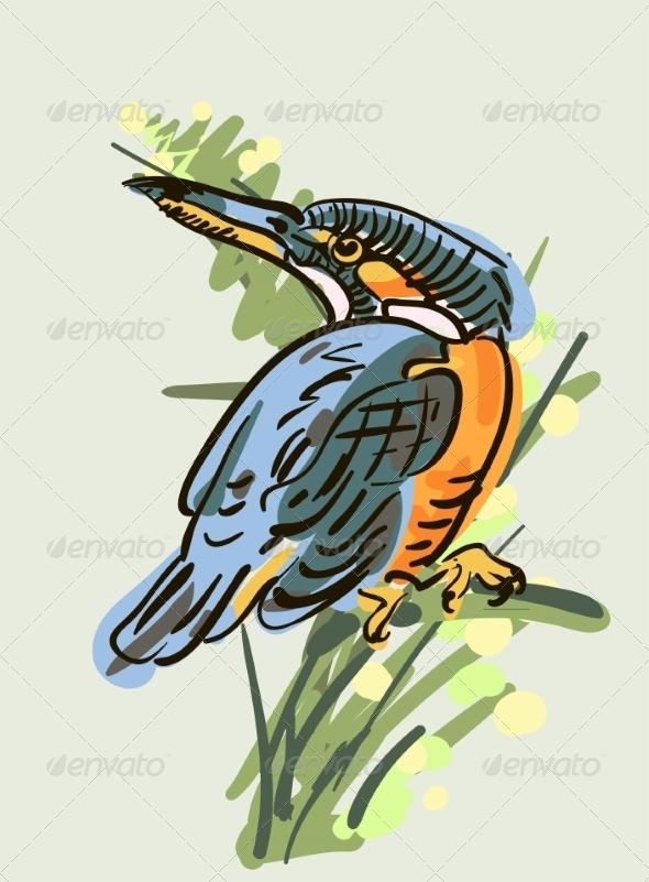 GraphicRiver Bird 6860073