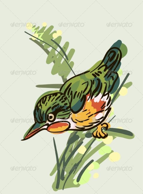 GraphicRiver Bird 6860076