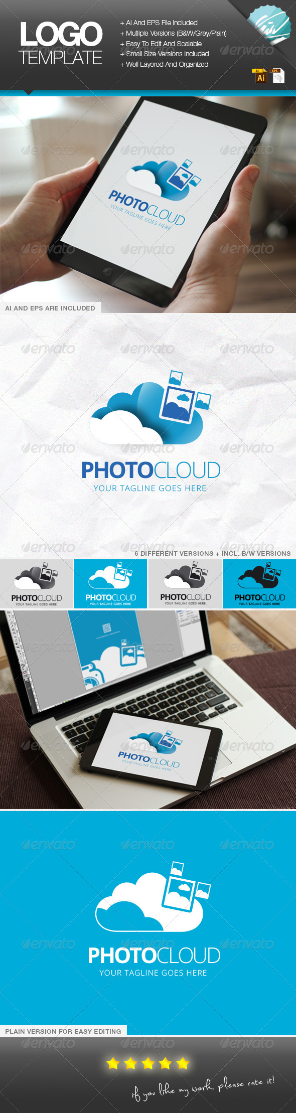 GraphicRiver PhotoCloud 6840460