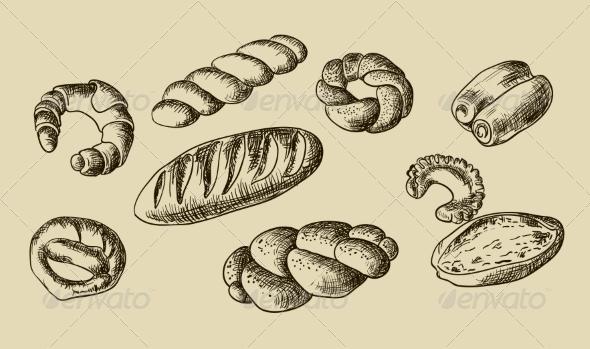 GraphicRiver Bread 6860211
