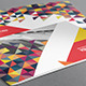 Colorful Triangles Brochure-Graphicriver中文最全的素材分享平台