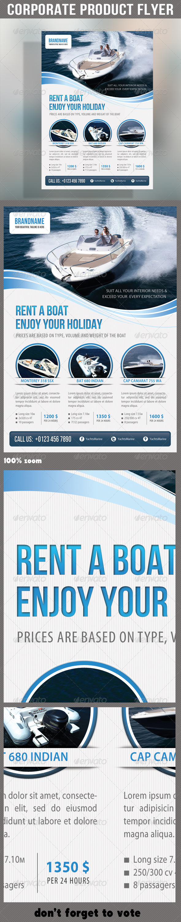 GraphicRiver Corporate Product Flyer 58 6860848