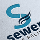 Sewers Pipeline Logo - GraphicRiver Item for Sale