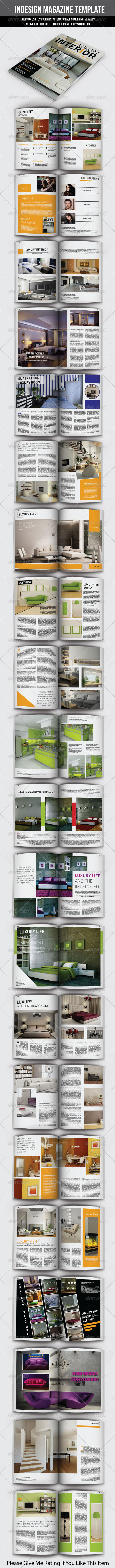 GraphicRiver Indesign Magazine Template 50 Page 6862382