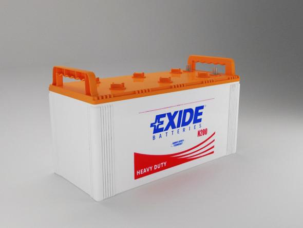 Battery Model - 3DOcean Item for Sale