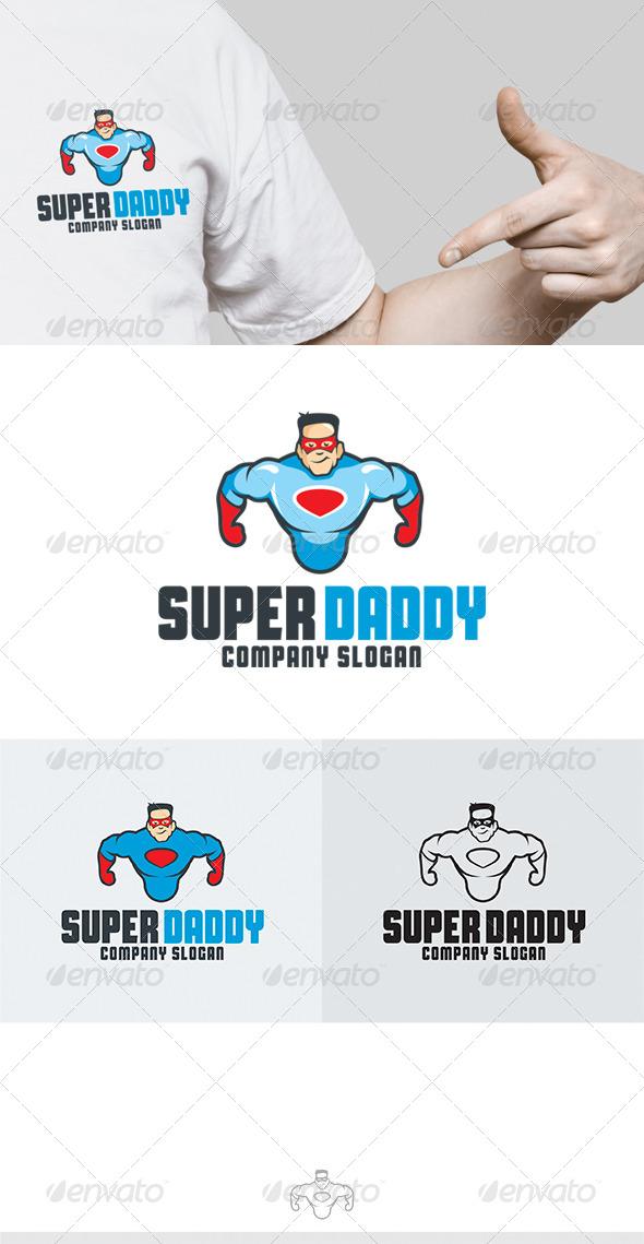 GraphicRiver Super Daddy Logo 6862536