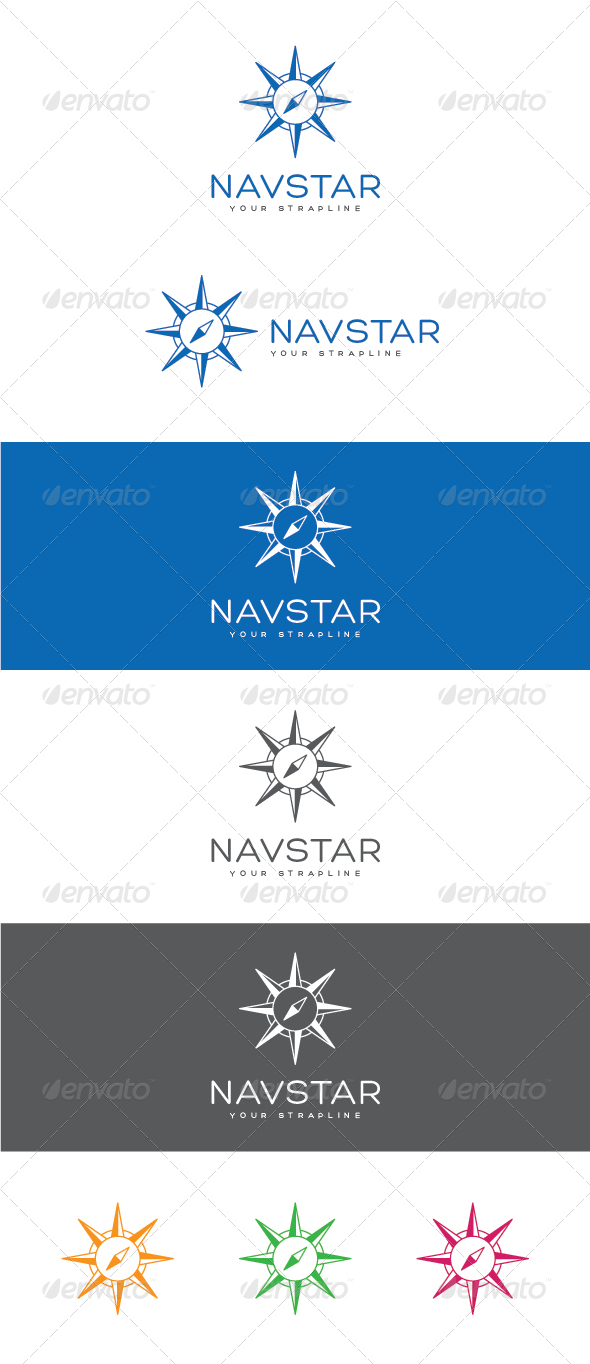 GraphicRiver Navstar Logo 6862736