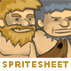 Character Spritesheet 1 HD - GraphicRiver Item for Sale