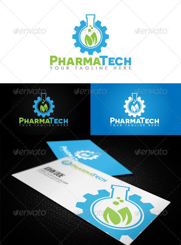 GraphicRiver PharmaTech Logo 6862769