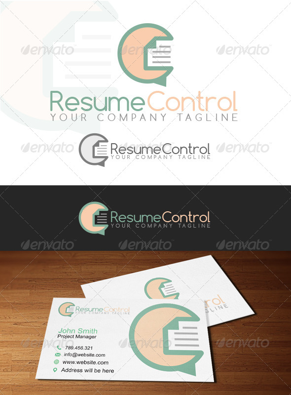 GraphicRiver Resume Control Logo 6863030