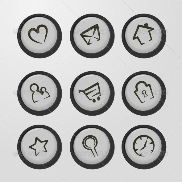 GraphicRiver Web Icons 6863252