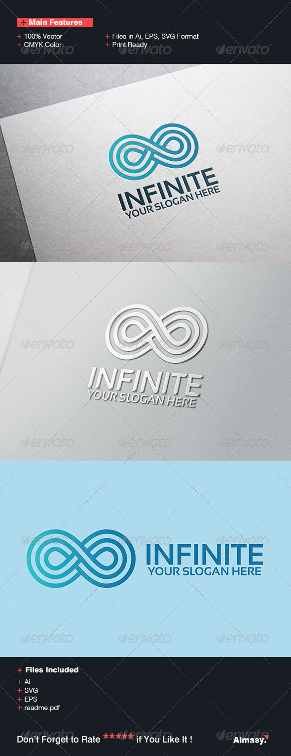GraphicRiver Infinito Logo Template 6863409